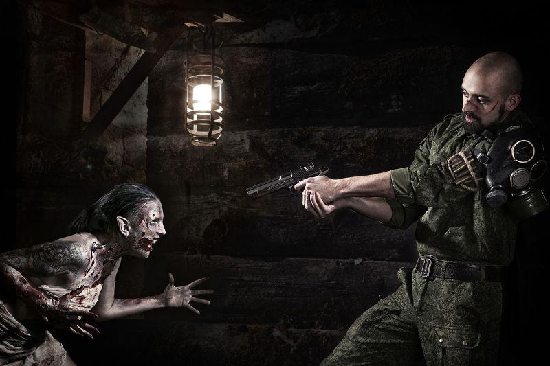 зомби солдат ... они встретились!photo preview