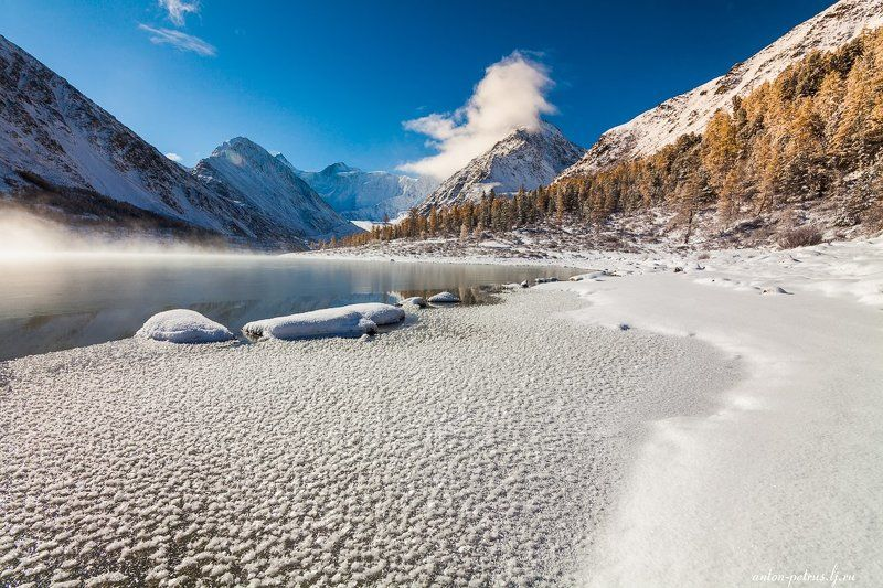 алтай, горы, белуха Белухаphoto preview