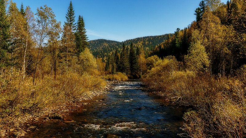 пейзаж, горы, осень Осенний Амзас! photo preview