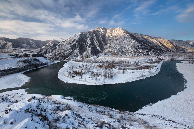Горный Алтай, Чуя, Катунь, рассвет, утро, горы Доброе утро, Чуя-Катунь...photo preview