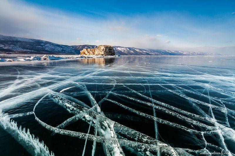байкал, зима, лед, снег Узорная мастерскаяphoto preview