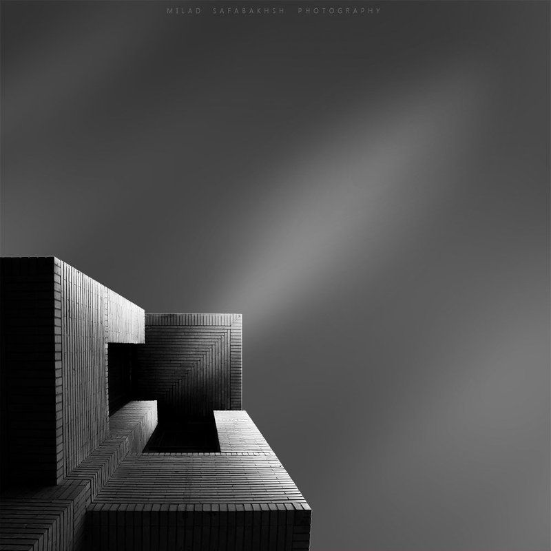 creative, fineart, bnw, minimal, architecture, abstract Arrow into infinityphoto preview