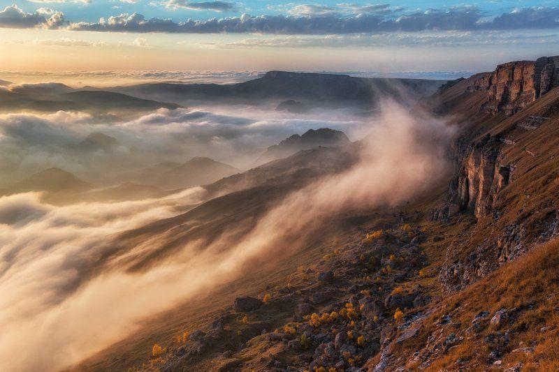 кавказ, бермамыт, приэльбрусье Дыхание гор.photo preview