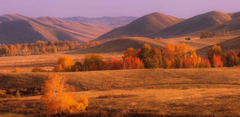 долгие горы, южный урал Бархатный Уралphoto preview
