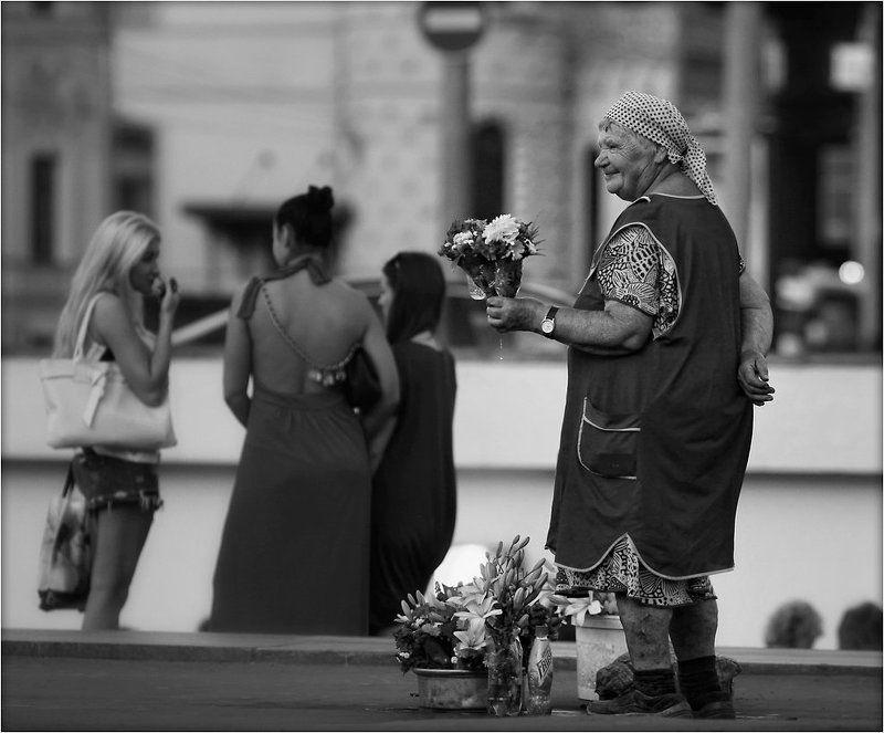 жизнь, хлеб, судьба, старость Не жизнь - цветочки...photo preview