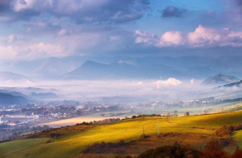 горы, европа, октябрь, осень, рассвет, словакия, татры, утро Утро в Татрахphoto preview