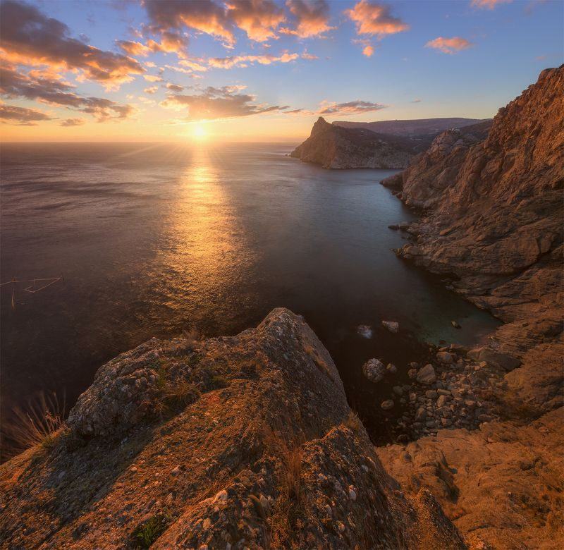 крым, балаклава, закат, осень Final Sunsetphoto preview