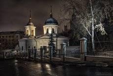 Ночь у Храма.