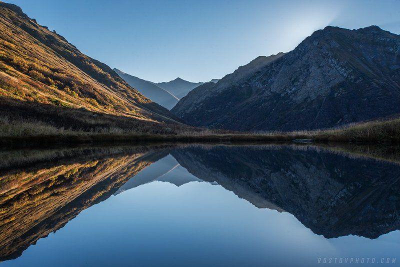 Кавказ, Дзитакские озёра, восход Утренняя чистотаphoto preview