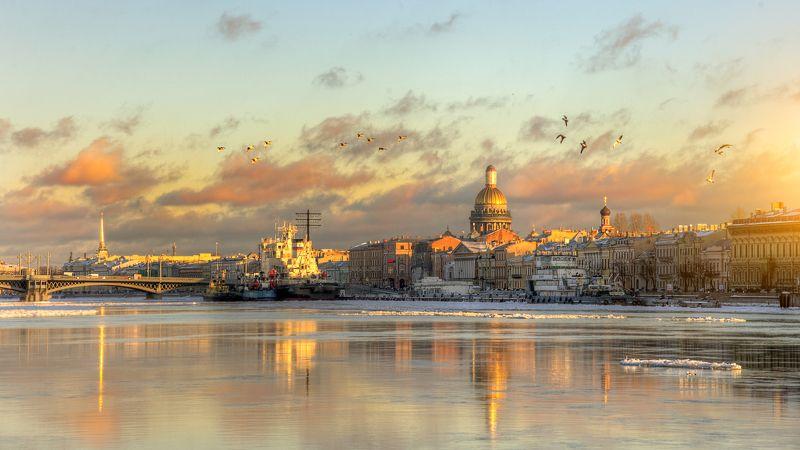 Нева, Санкт-петербург Северная Венеция...photo preview