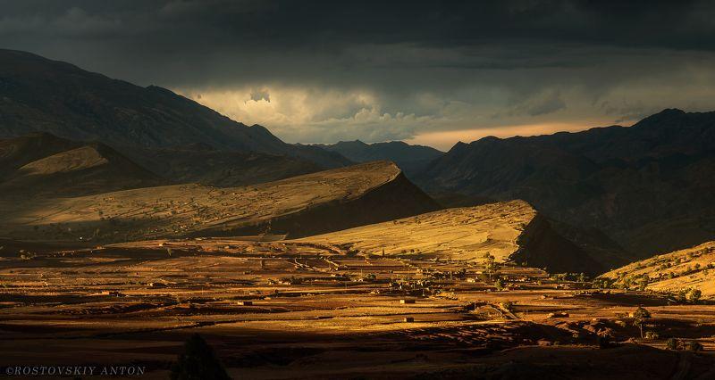 Maragua, Bolivia, Sunset, Sunset in Maraguaphoto preview