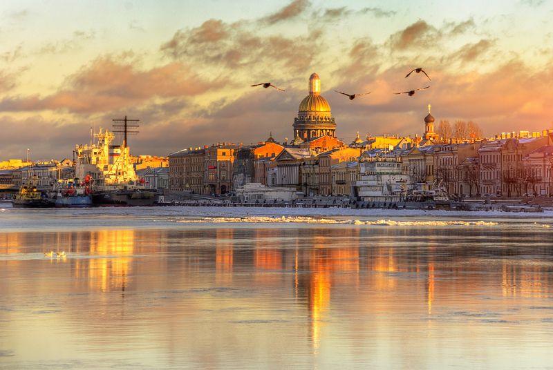 санкт-петербург есть город золотой...photo preview