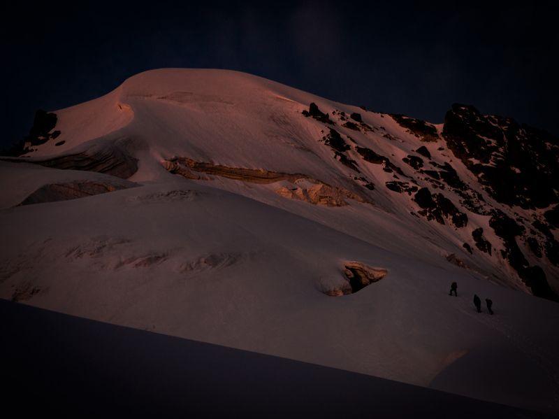 Утро под вершиной.photo preview