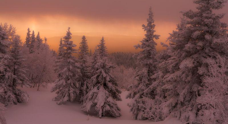 Южный Урал, Зимний лес, Уреньга Чертоги зимыphoto preview
