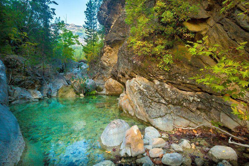 ликия, ликийская, тропа, турция, утро, озеро, благодать Счастливое утроphoto preview