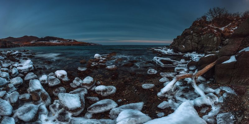побережье, японского, моря ***photo preview