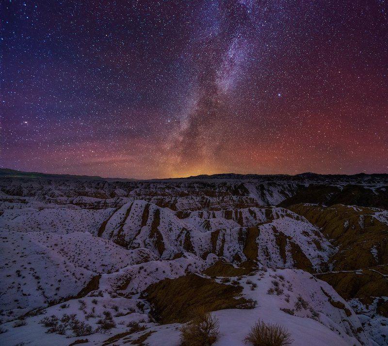 ночное небо, каньон, жабыр, чарын * * *photo preview