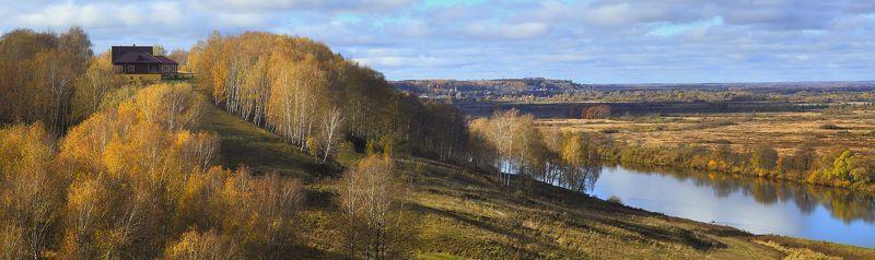 клязьма пирово-городище ярополч-залеский Вид на Клязьмуphoto preview