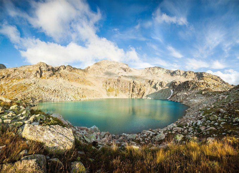 кратерное, архыз, кавказ, карачаево-черкесия, оезро, горы, вечер, благодать, благодарность Сказочный походphoto preview