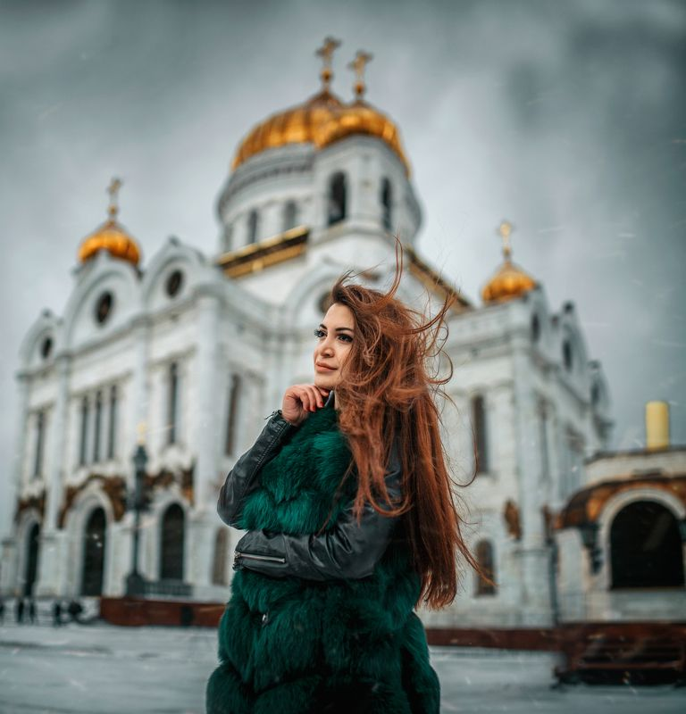 #portrait #beautiful #model #russia #moscow #winter Lusinephoto preview
