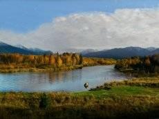 Люблю я пышное природы увяданье, В багрец и в золото одетые леса,..
