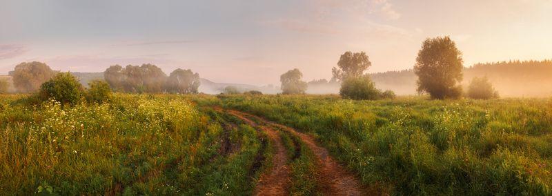 Панорама летнего утраphoto preview