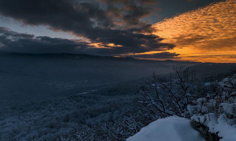 Просто зима... просто вечер...photo preview
