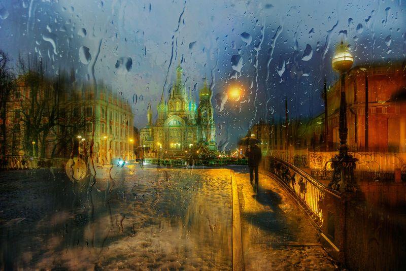 зимний дождь...photo preview