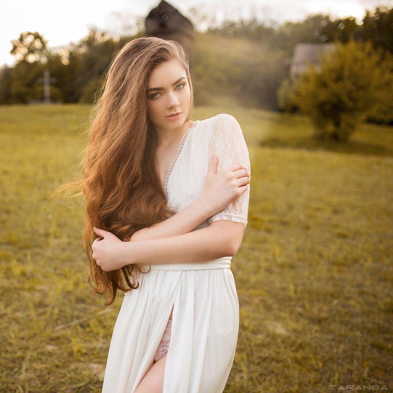 girl, kiev, ukraine, summer, warm, cloudy, portrait photo preview