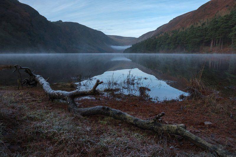 ирландия, рассвет, фототур, глендалох Морозное утро в Двуозерьеphoto preview
