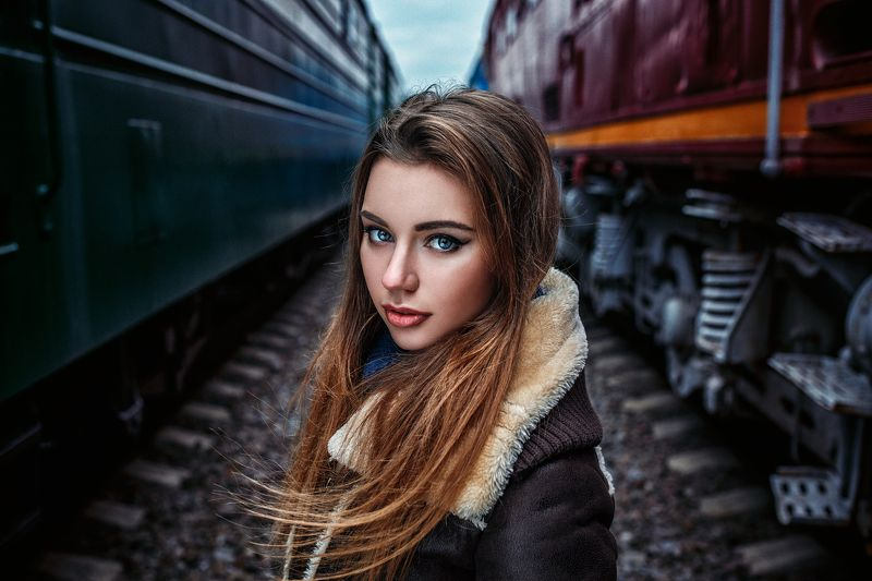 #portrait #beautiful #model #russia #moscow #train Dariaphoto preview