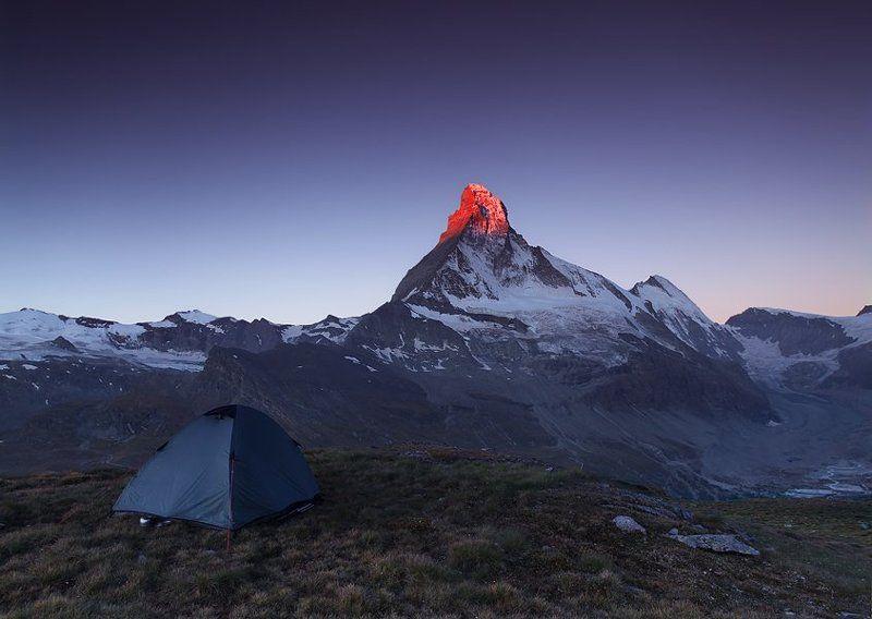 matterhorn Mornings Fire of Matterhornphoto preview