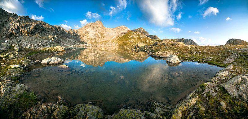 утро, горы, озеро, поход, архыз, кавказ Софийские озераphoto preview
