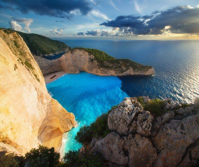 закинтос, греция, zakinthos, море, navagio, навагио, greece На гребнях Navagiophoto preview