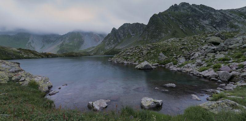 Вечер, озеро и ветерокphoto preview