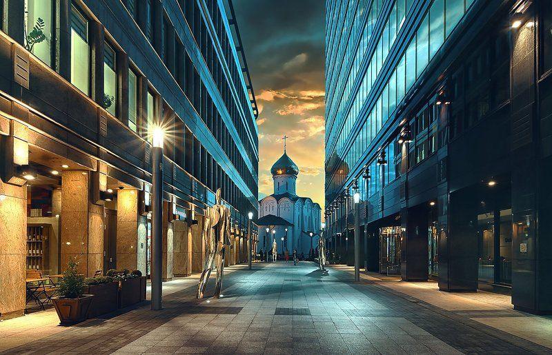 город, москва, храм, церковь, улица Дорога к храмуphoto preview