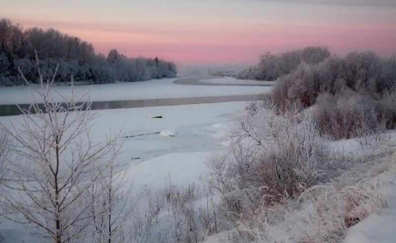 Ока зимняяphoto preview