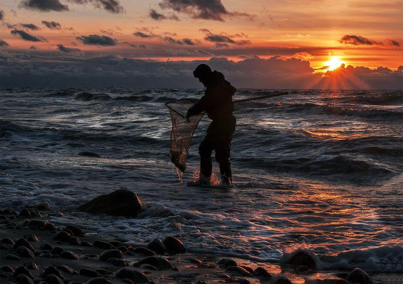 sunset,sky,seascape, Amber catcherphoto preview
