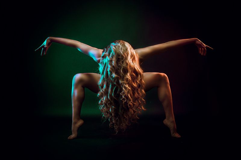 portrait, fine art, ballerina, Dance et Temporephoto preview