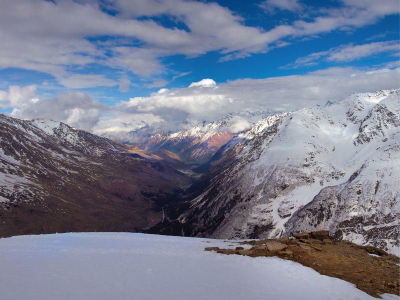 панорама, приэльбрусье Баксанphoto preview