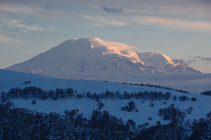 кчр,перевал гум - баши,горы,эльбрус Эльбрус ...photo preview