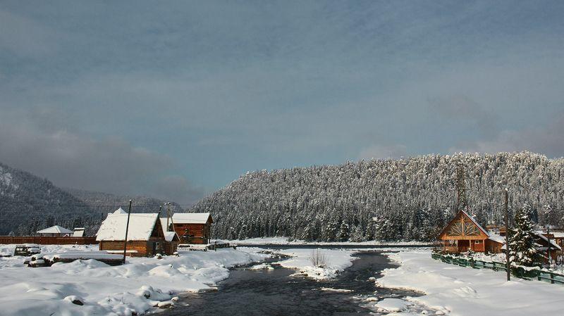 алтай, река, путешествие,зима,2016 Алтайphoto preview