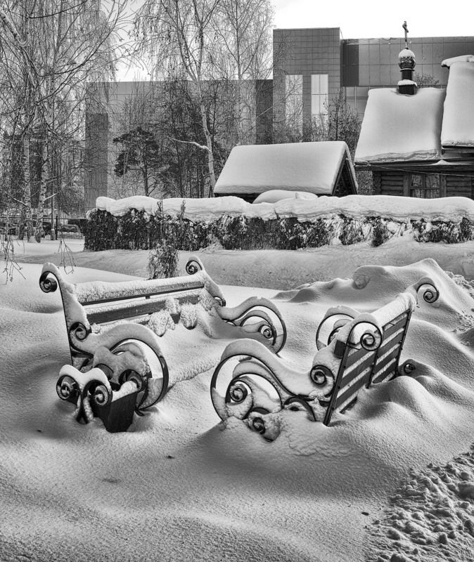 уголок кургана,зима,снег Уголок Курганаphoto preview