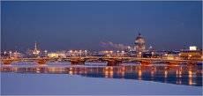 Морозный вечер в СПб *** Frosty evening in St. Petersburg