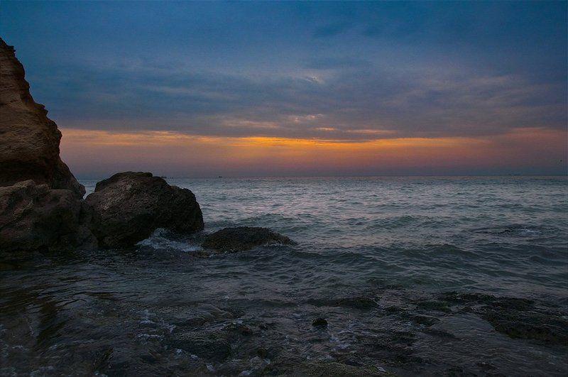 пейзаж, одесса, море, пляж, лето Утреннее море...photo preview