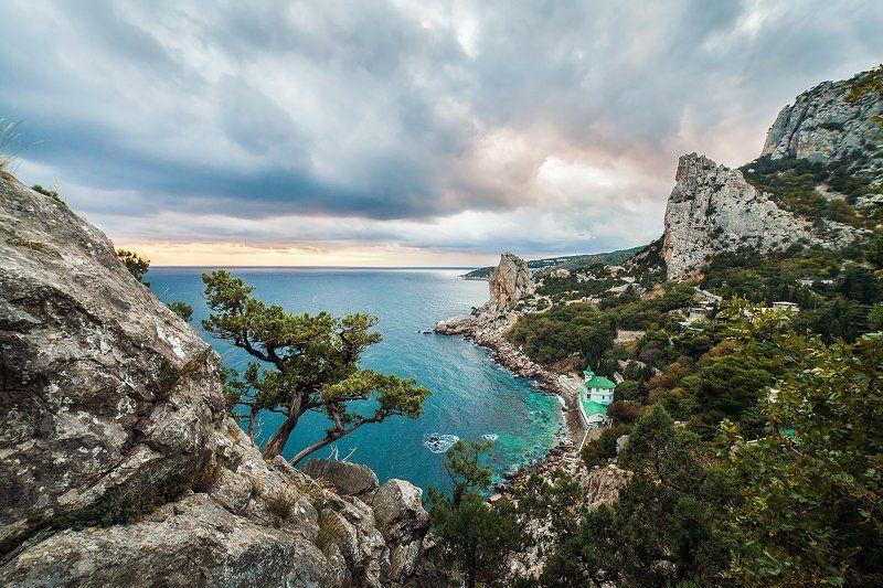 пейзаж, landscape, путешествие, россия, крым, природа, море, горы, скалы Симеизphoto preview
