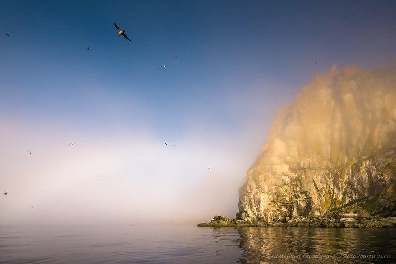 ямские острова, охотское море, радуга Остров Матыкильphoto preview