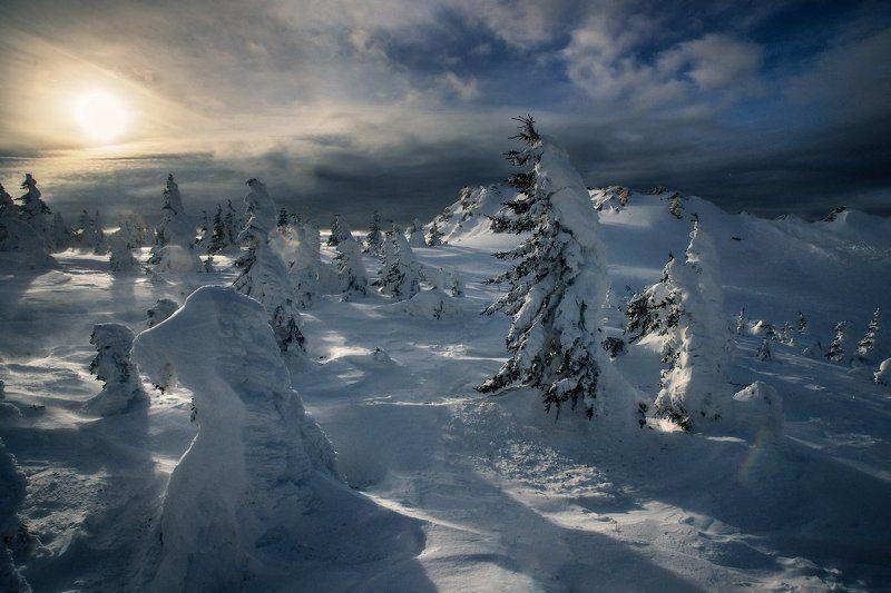таганай, урал, горы, метео, зима Стихия Таганаяphoto preview