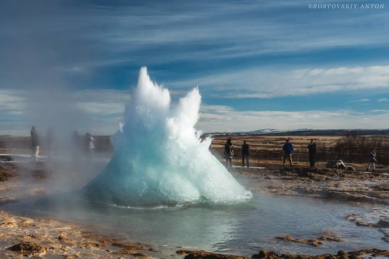 Исландия, гейзер Гейзерphoto preview
