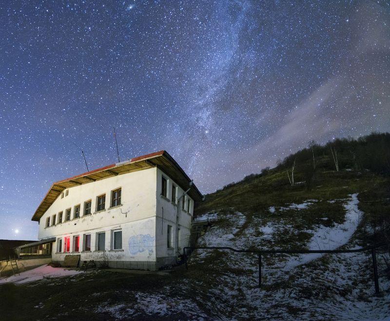 night, sky, stars, balkan, bulgaria, mountain, beauty, incredible , majestic, nikon, tokina Night in National park \